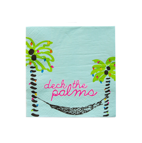 Cocktail Napkins - Deck the Palms