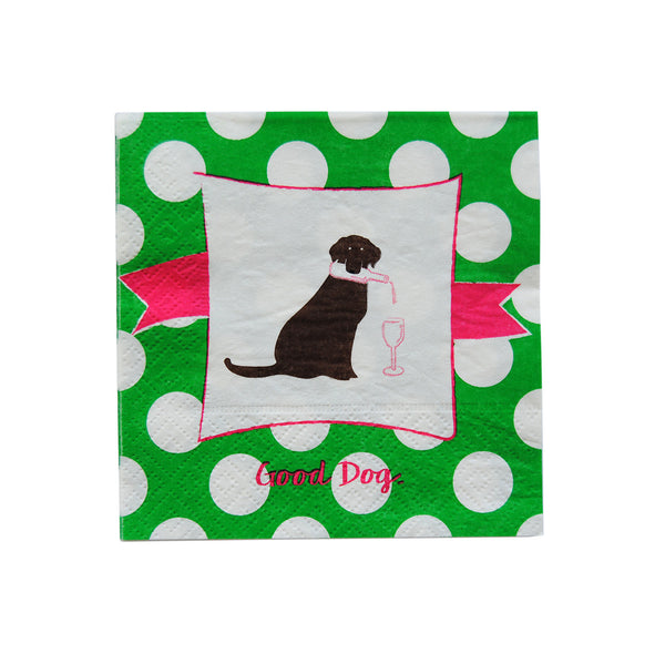 Cocktail Napkins - Good Dog