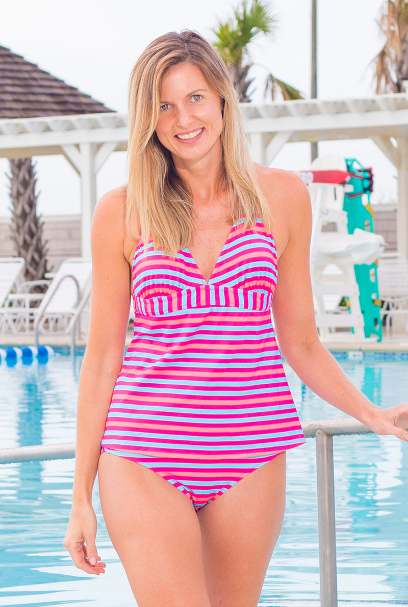 Halter Tankini Top (More Colors Available)