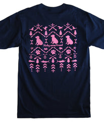 Outdoor Life T-Shirt in Navy