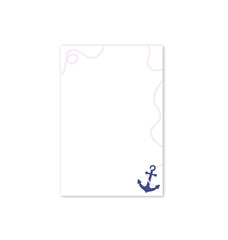 Note Pad, Preppy Anchor