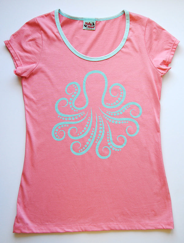 Amelia Tee - Coral with octopus