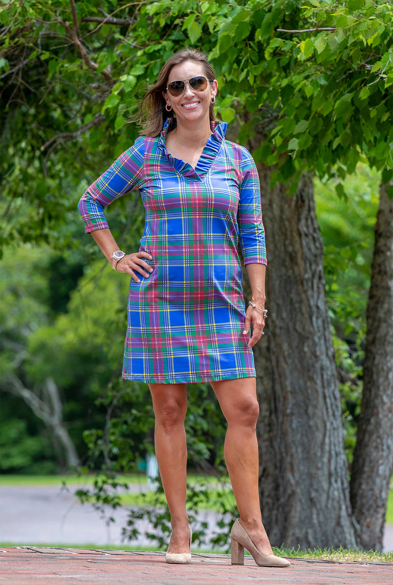 Parker Dress in Macbeth Tartan