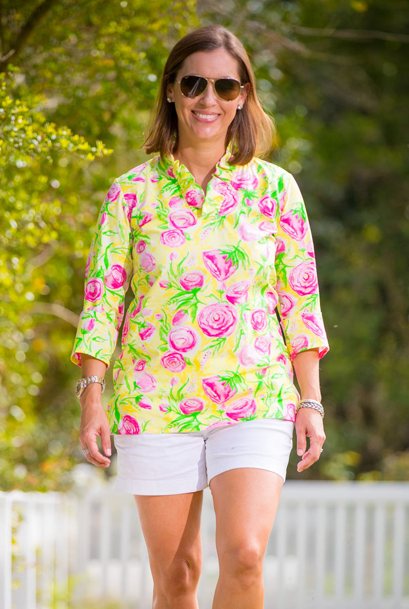 Parker Tunic in Derby Floral