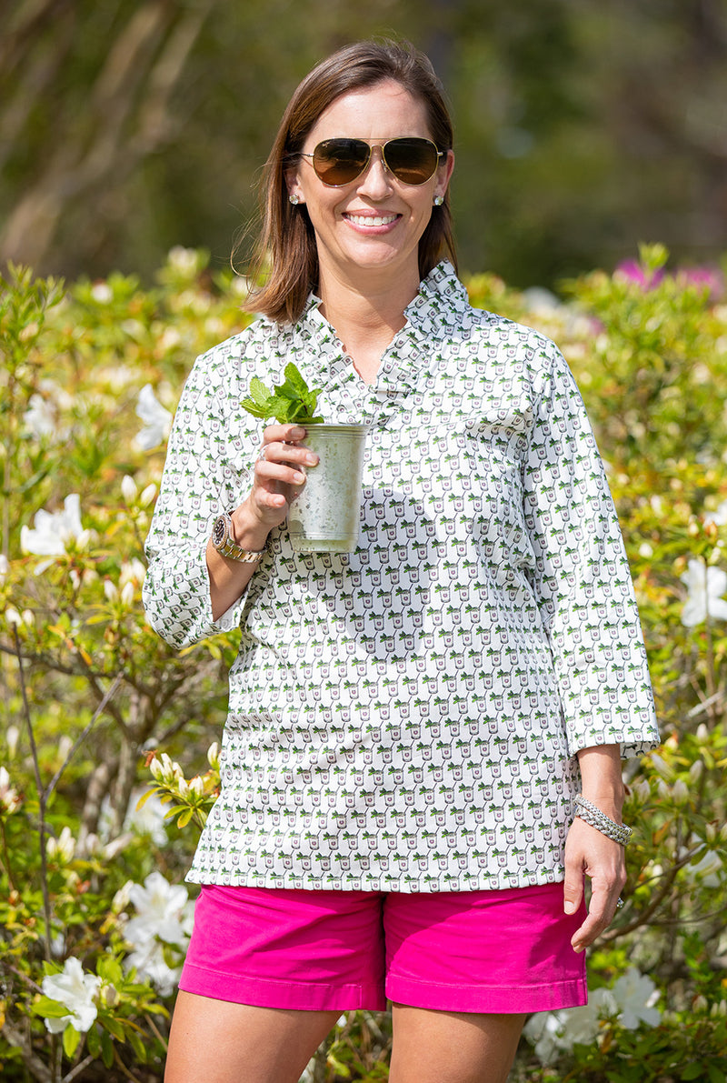 Parker Tunic in Julep Cups