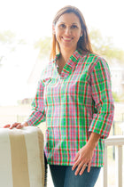 Parker Tunic in Preppy Plaid
