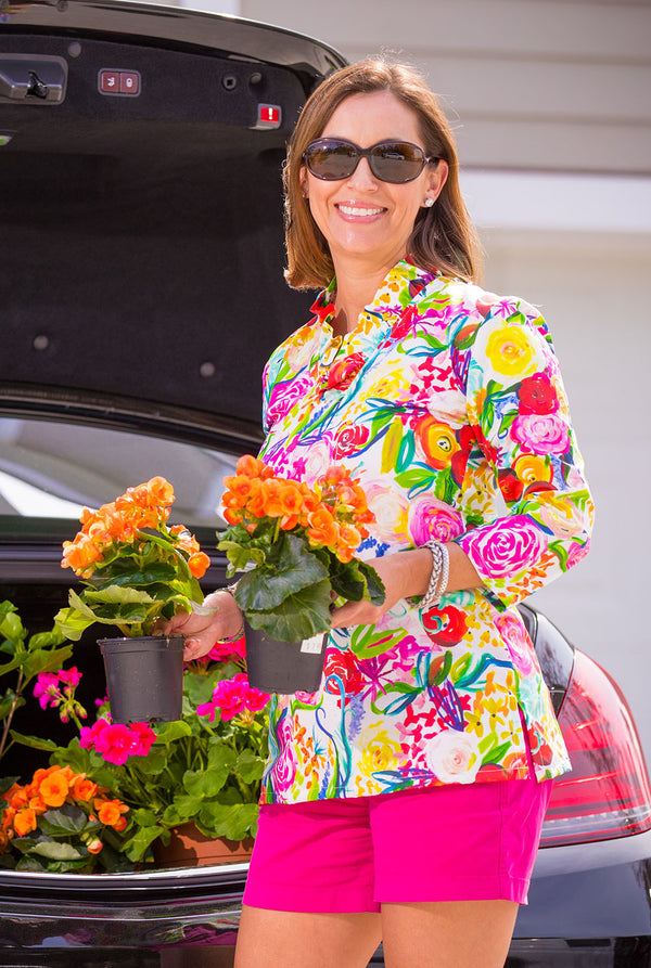 Parker Tunic in Summer Floral