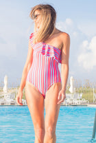 Ruffle One-Piece Suit (More Colors Available)