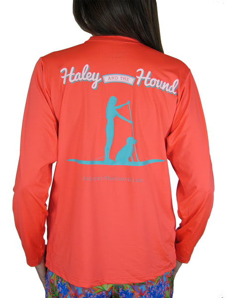 SPF T-shirt in Stand Up Paddleboard on Coral