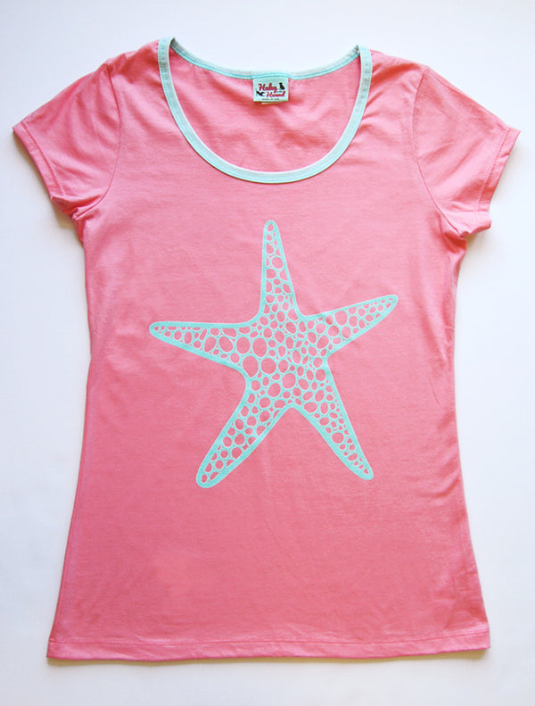 Amelia Tee in Coral Starfish