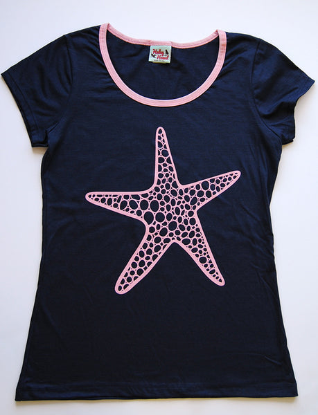 Amelia Tee in Navy Starfish