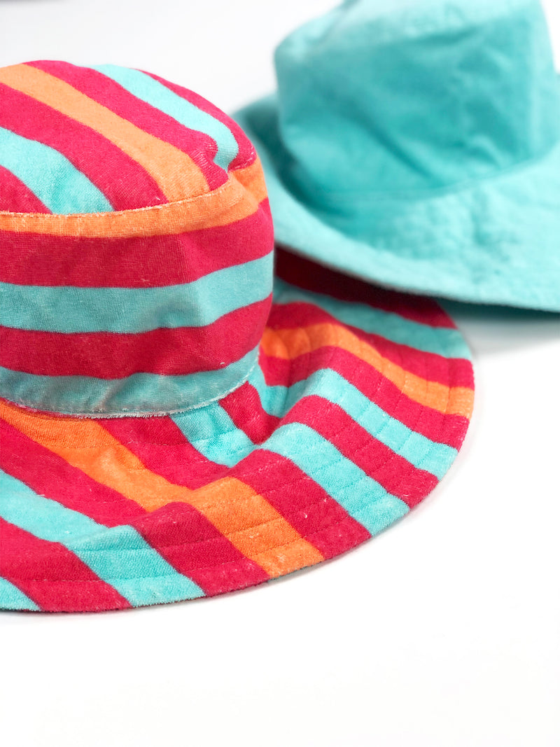 Terry Reversible Sun Hat