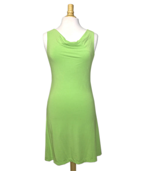 Virginia Dress in Lime Green