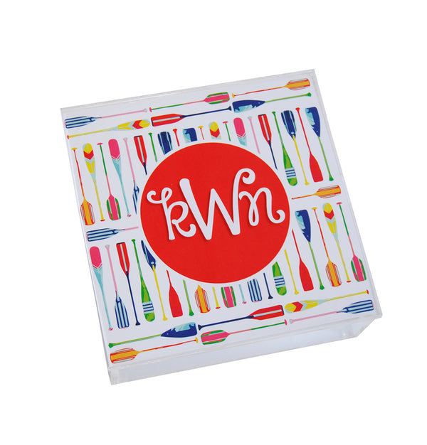 Acrylic Hinged Box - Preppy Set
