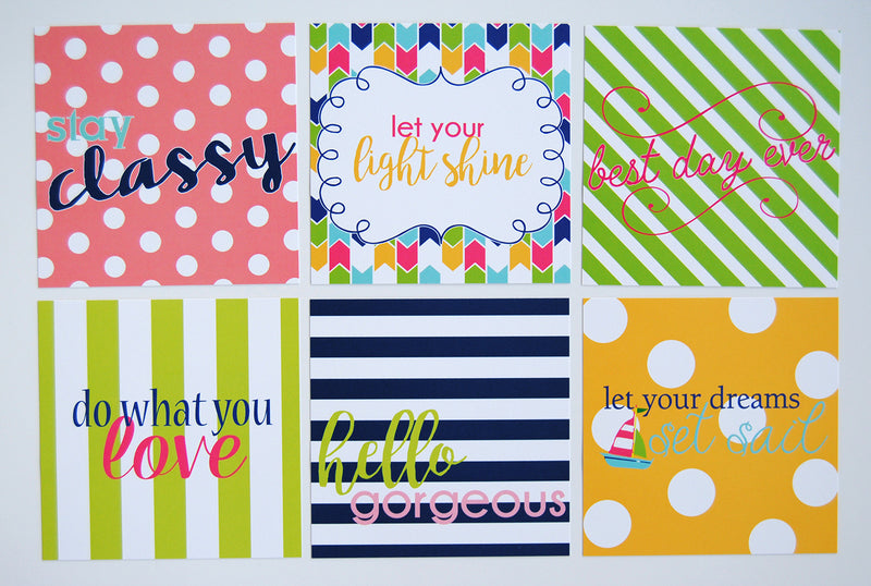 Acrylic Small Tray - Quotes