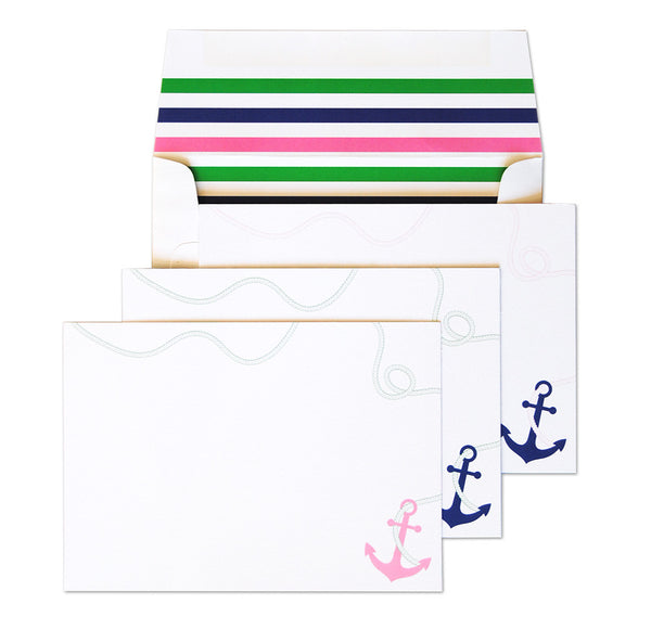 Preppy Anchor Card Set