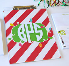 Acrylic Clipboard - Seasonal Set