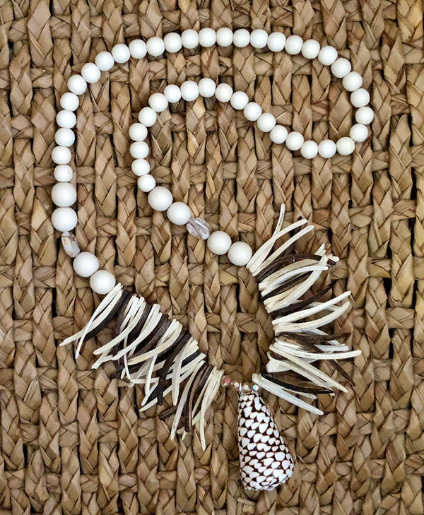 Shell & Spikes Necklace