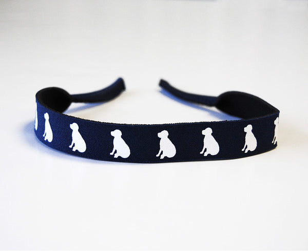 Navy Lab Croakies