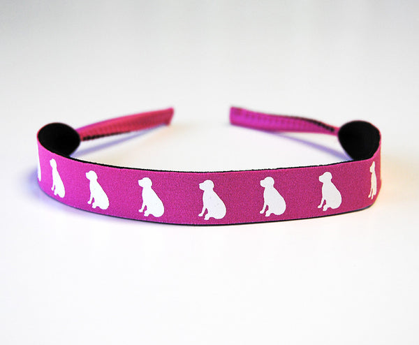 Pink Lab Croakies