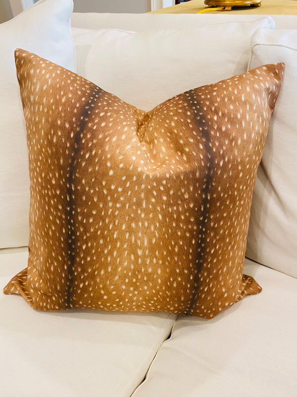 Throw Pillow Cover-Antelope