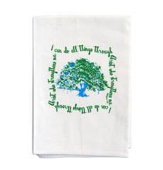 Faithful Tea Towel - Tree