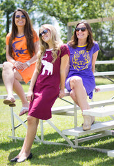 Elephant Game Day Tee Dress