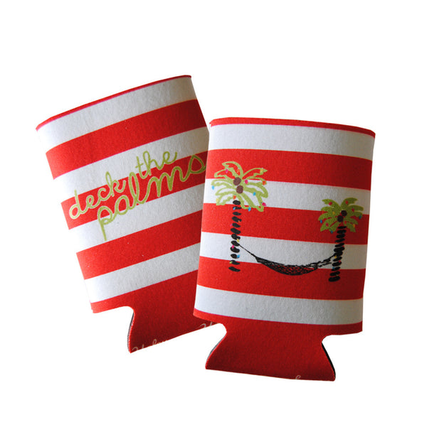 Deck the Palms Koozie