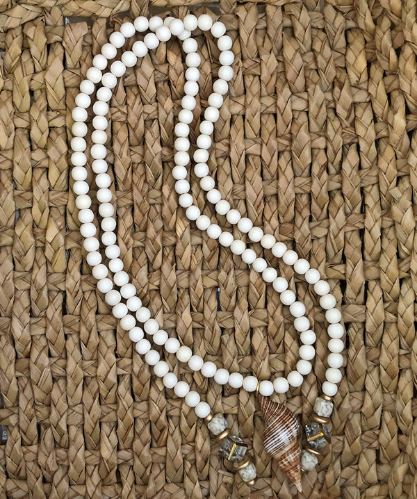Lariat Shell Necklace