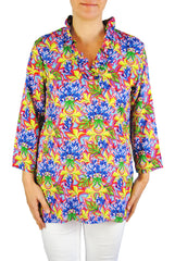 Parker Tunic in Blue Floral