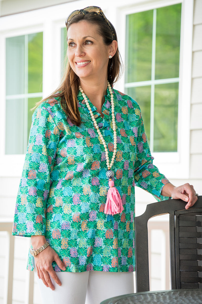 Parker Tunic in Pineapples