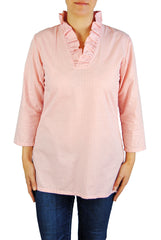 Parker Tunic in Pink Gingham
