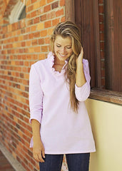 Parker Tunic in Pink Seersucker