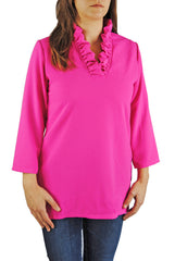 Parker Tunic in Hot Pink