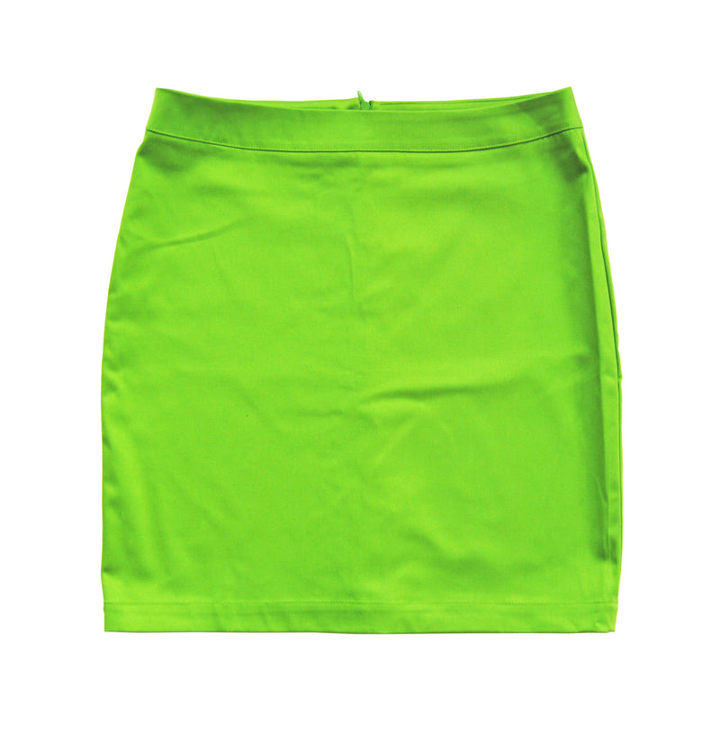 Pencil Skirt in Lime