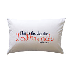 Pillow - This is the day the Lord has made