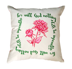 Faithful Pillow - Flower