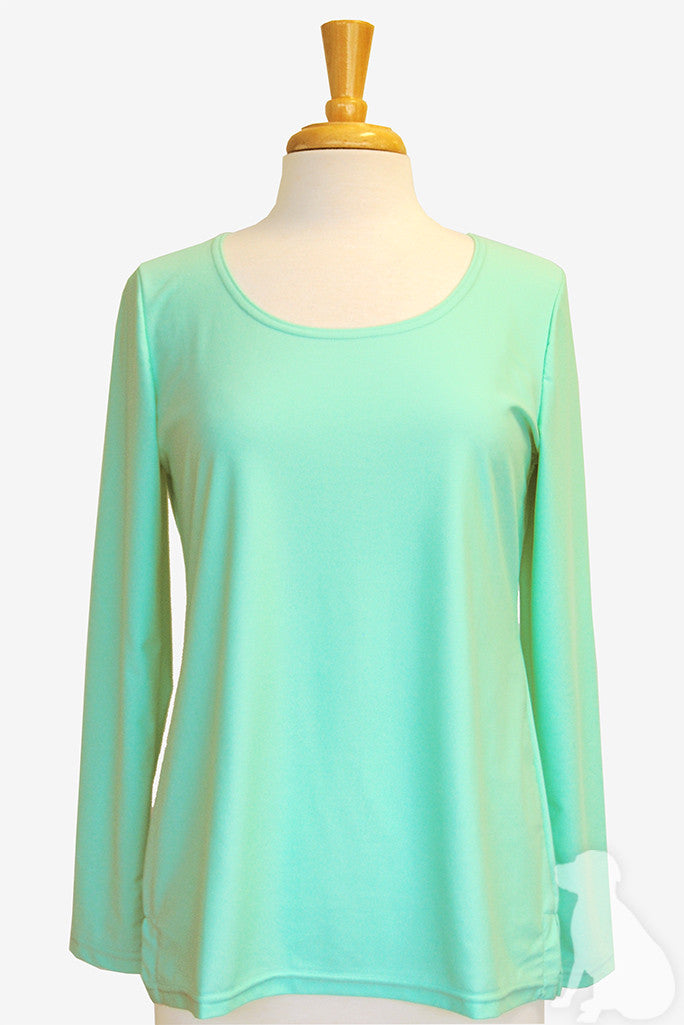 Scoopneck Tunic in Mint