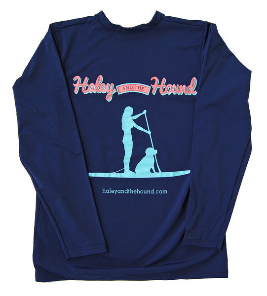 SPF T-shirt in Stand Up Paddleboard on Navy