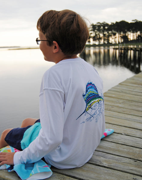 Youth SPF T-Shirt in Sailfish