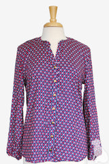 Stella Shirt in Willow Dot Orchid
