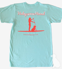 T-Shirt in Aqua SUP