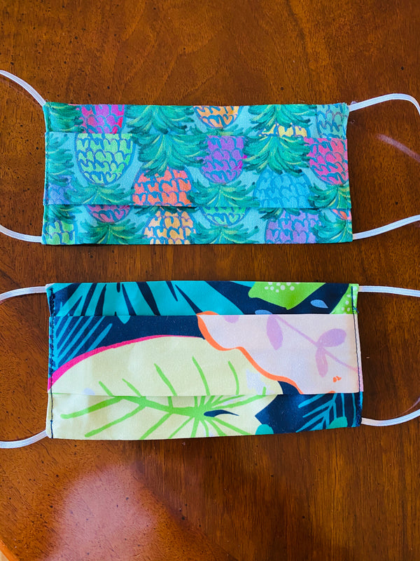 Pleated Mask-Tropical Set of 2