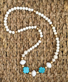 Turquoise Deco Necklace