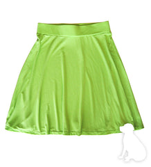 Twirly Skirt in Lime Green