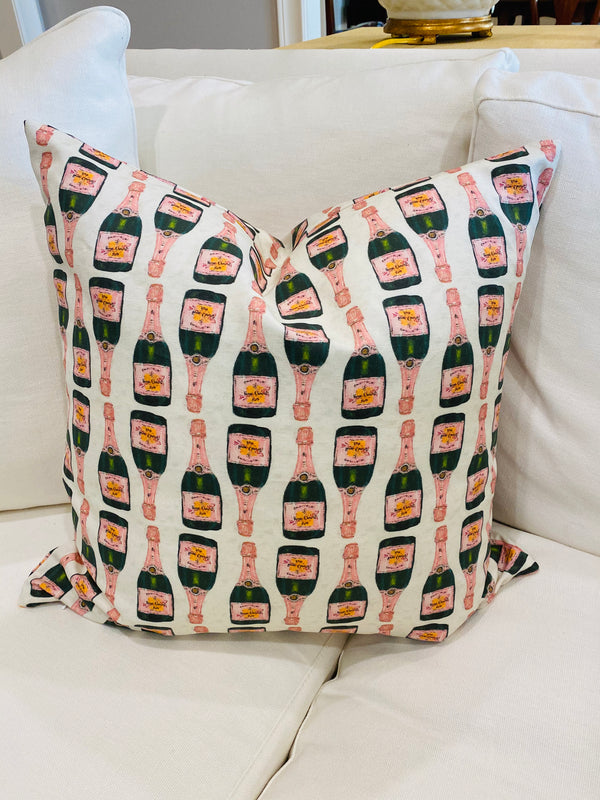 Throw Pillow Cover-Veuve