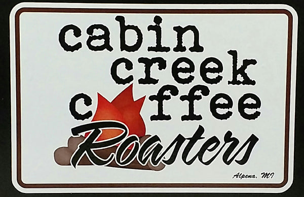 Cabin Creek Coffee Roaster 1 pound bag Flavors