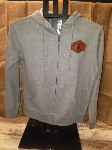 Rockford Hexagon Patch Full Zip Unisex Pullover