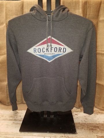 Old Gas Station Rockford Unisex Sweatshirt