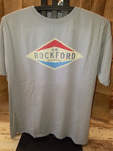 Rockford Old Gas Station Unisex T-Shirt